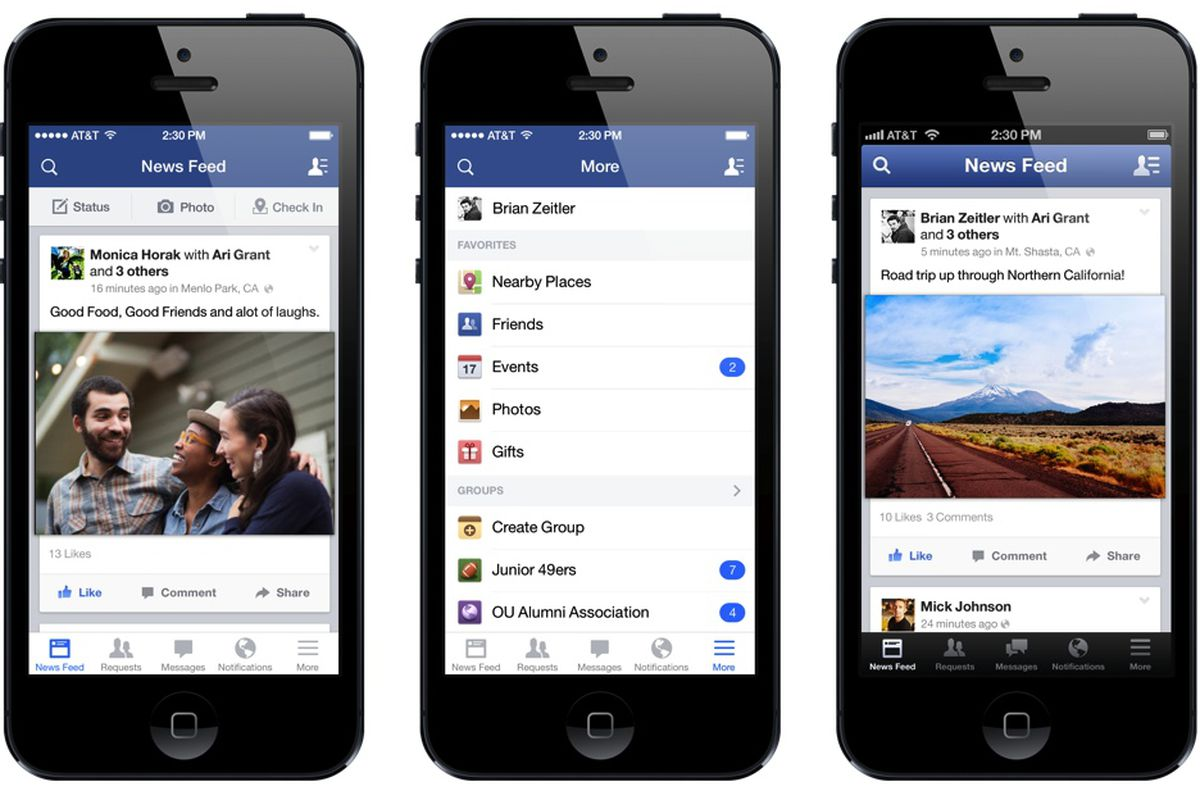 facebook app for iphone how secretly redesigned its iphone app with your 14061