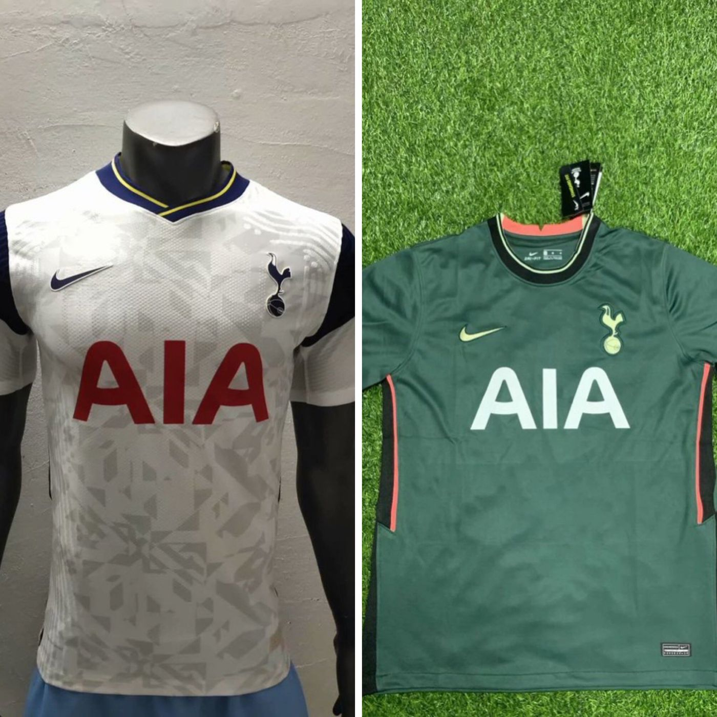 Leaked New Photos Of Tottenham S 2020 21 Home And Away Kits Cartilage Free Captain