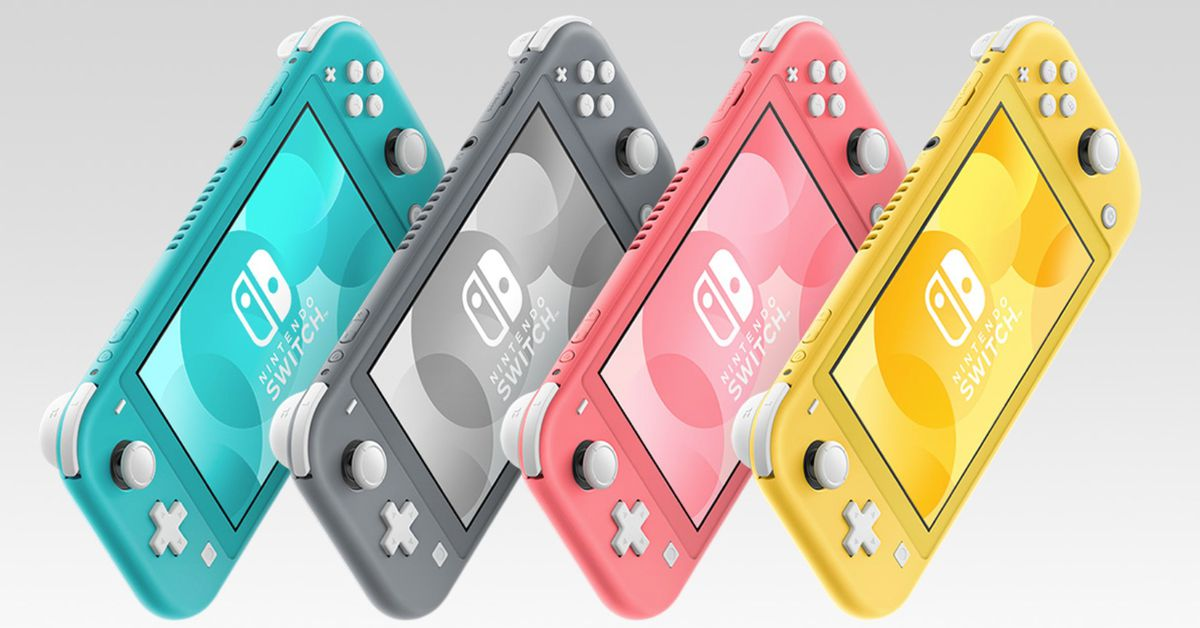 A coral pink Nintendo Switch Lite is coming
