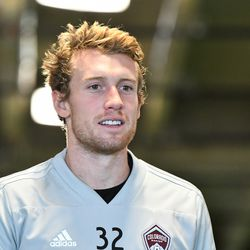 Jack McBean, one of the newest Rapids.