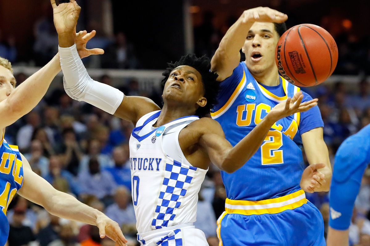 NBA Draft: Josh Jackson, Lonzo Ball Fighting to Become No. 2 Pick
