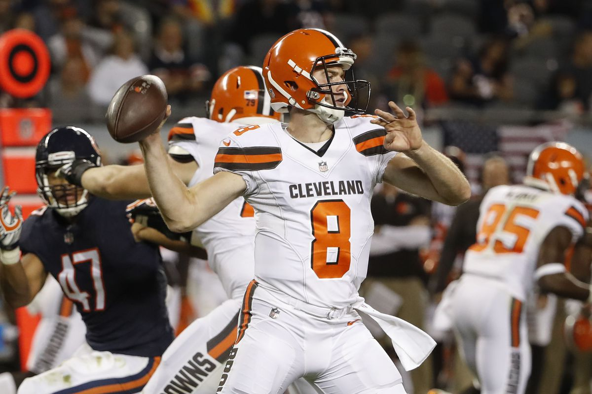 DeShone Kizer Exits Game Due to Migrane, Kevin Hogan Stars At Quarterback