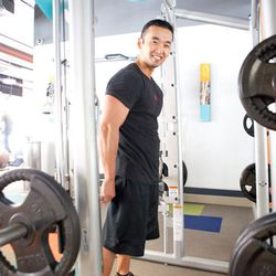 """<a href=""""http://la.racked.com/archives/2012/07/31/hottest_trainer_contestant_6_sage_noh.php"""">Sage Noh of Sage Fitness</a>"""