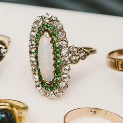 Vintage rings, for information call 212-219-1264