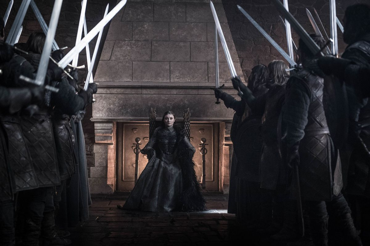 Final of Game of Thrones finale Sansa