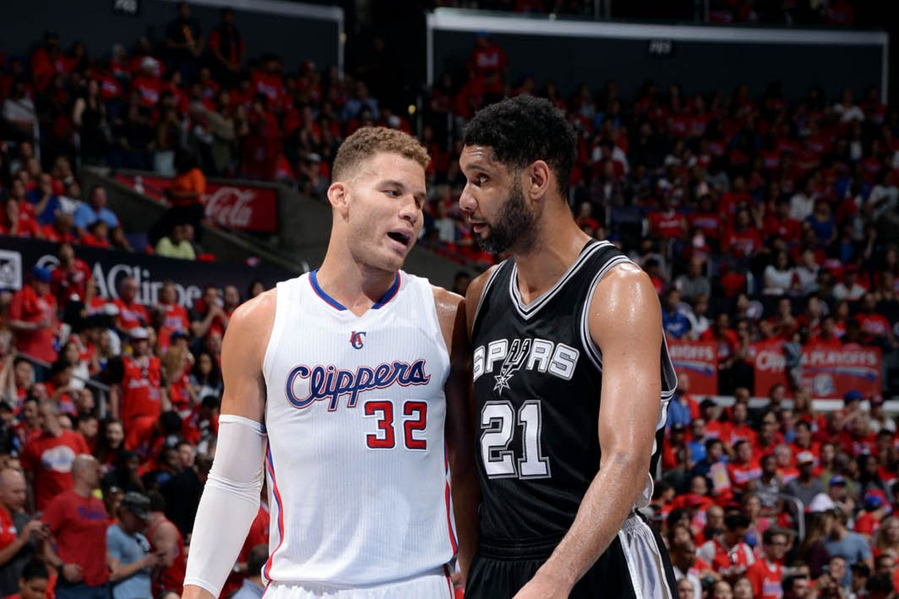Blake Griffin: By engaging you, Tim Duncan disengages you