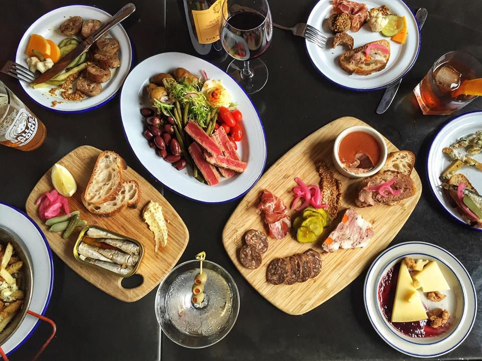 Charcuterie and more at Deep Ellum, a great beer bar