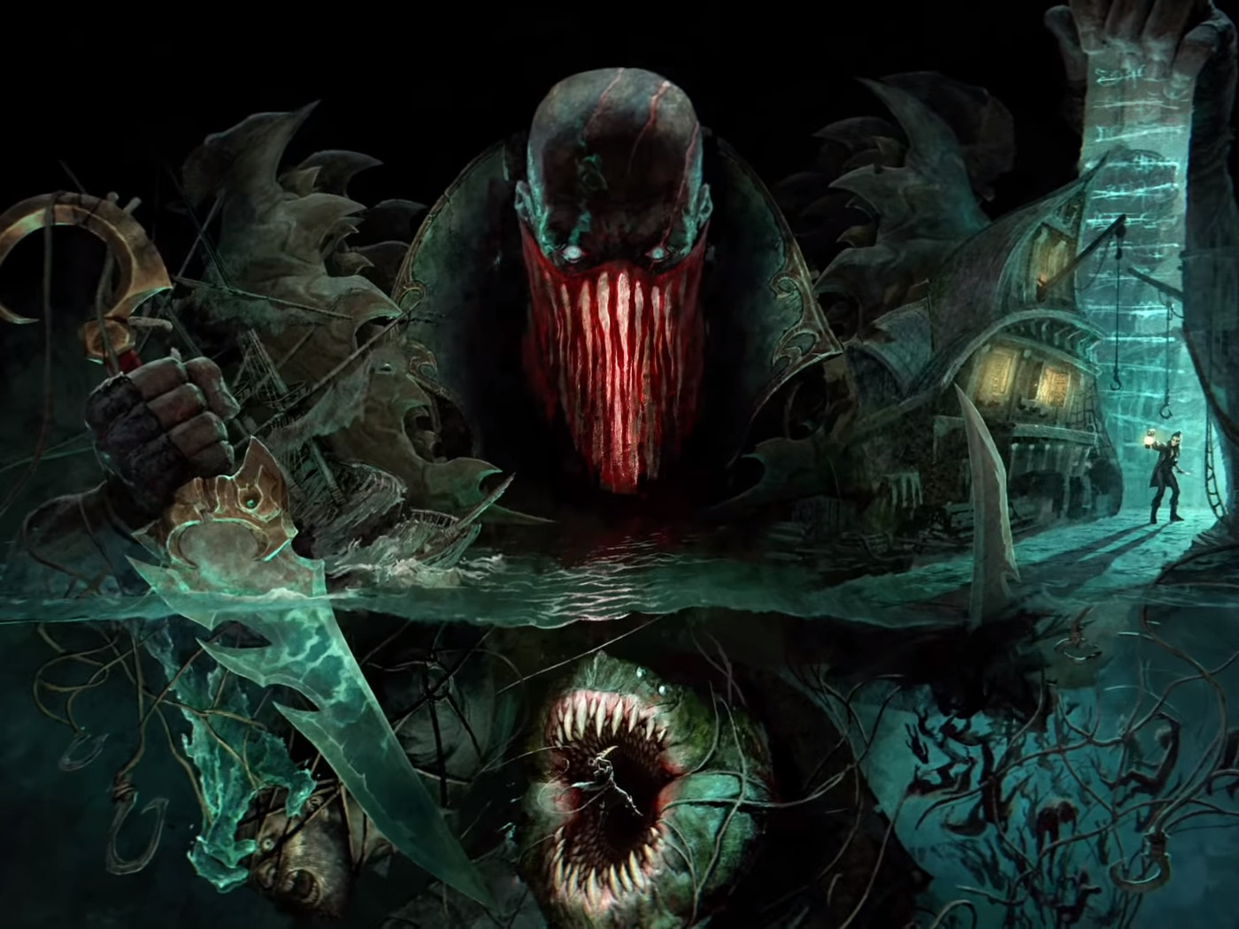 Pyke League Of Legends Newest Champion Teased In Spooky Video The Rift Herald