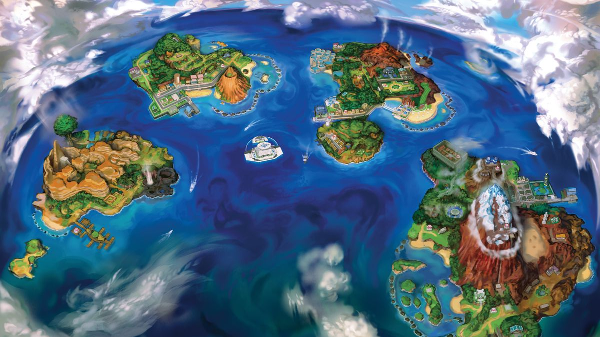 Pokémon Sun and Moon has a new region, Alola