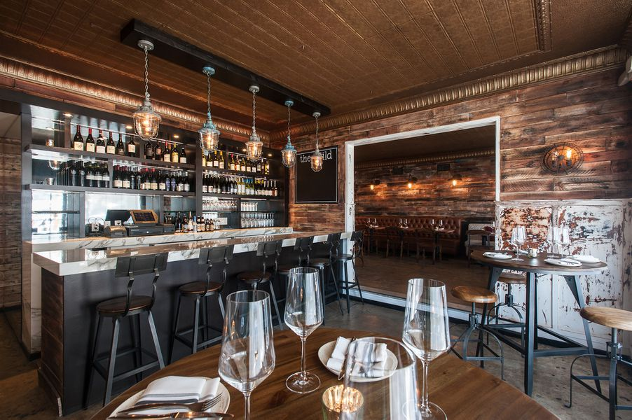 gaze inside the guild, west hollywood's rustic return to the