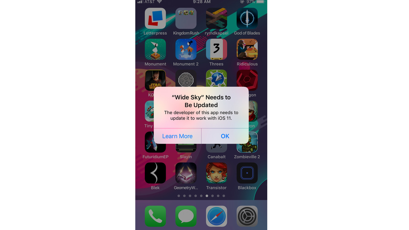 Some apps won't work on iOS 11 — here's how to check which ones