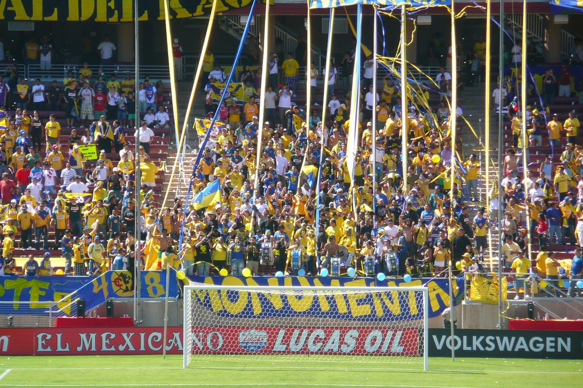 Fans of Club America celebrate. Used under creative commons license.
