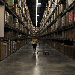 Fun fact: IKEA stores don't hire outside contractors to put together their showroom. Their stores are put together entirely by their employees.