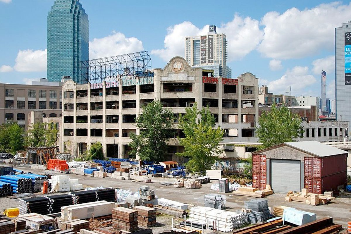 The West Chemical complex in Long Island City is now being prepared for demolition, to be replaced by several new residential towers.