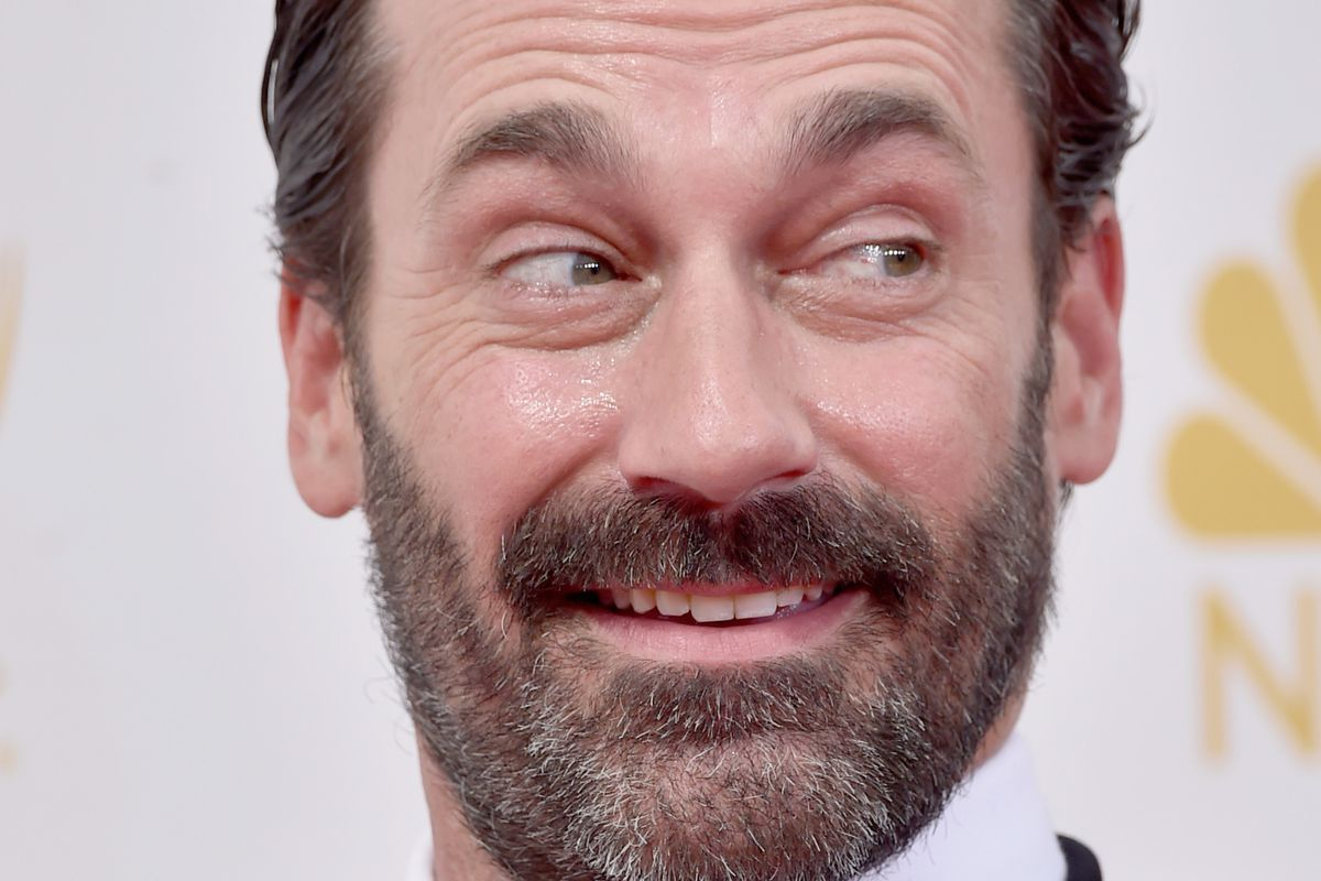 Actor Jon Hamm attends the 66th Annual Primetime Emmy Awards held at Nokia Theatre L.A. Live on August 25, 2014 in Los Angeles, California.