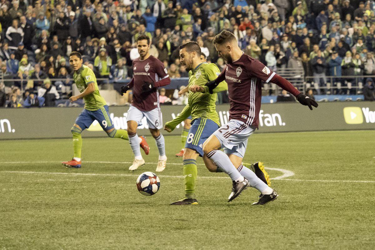 SOCCER: MAR 09 MLS - Colorado Rapids at Seattle Sounders FC