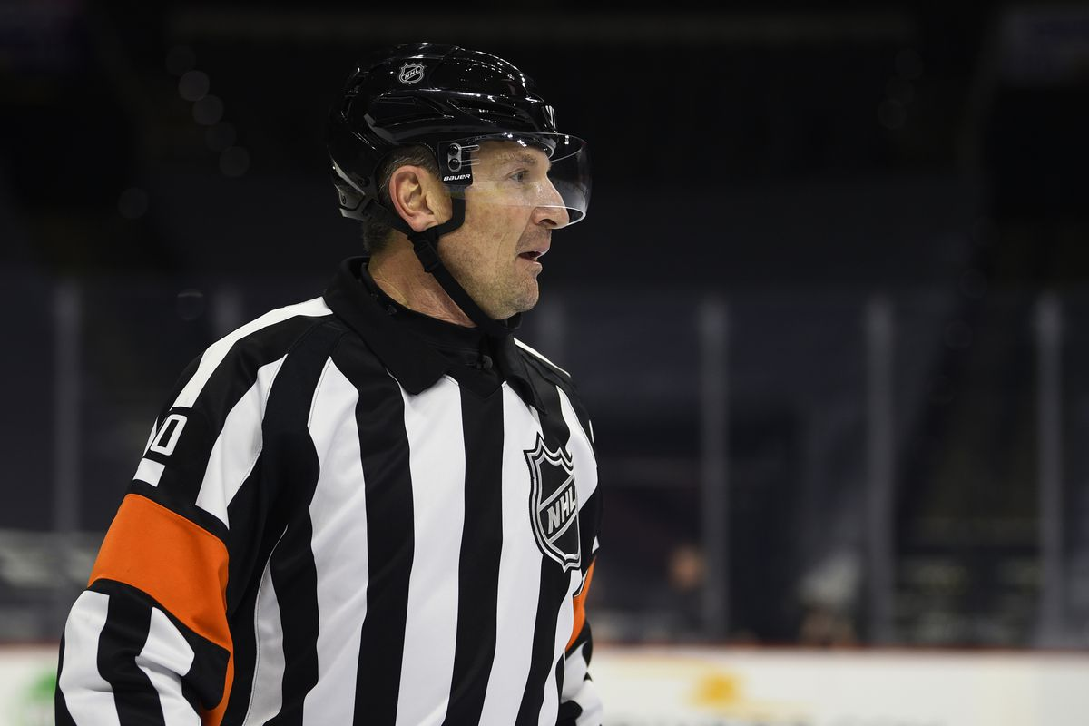Tim Peel's career as an NHL referee is over after his voice was picked up by a TV microphone saying he wanted to call a penalty against the Nashville Predators.