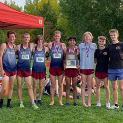 Springville's boys cross country team won the Region 9 championships last week.