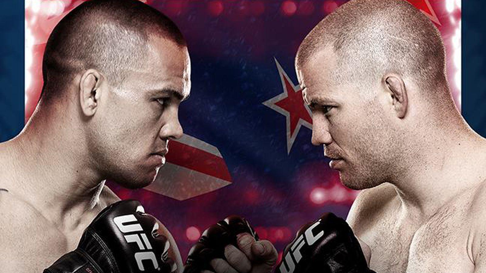 UFC搏击之夜43:'Te Huna vs Marquardt'现场结果和播放博客