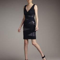 "<i> <a href=""http://www.neimanmarcus.com/store/catalog/prod.jhtml?itemId=prod123480041&parentId=cat8490735&masterId=cat000071&index=23&cmCat=cat000000cat000001cat000009cat000071cat8490735"" rel=""nofollow"">Ruched Sequined Jersey Dress</a></i"