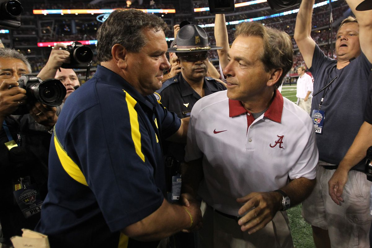 This isn't the first time Saban got the best of Hoke, or myself.
