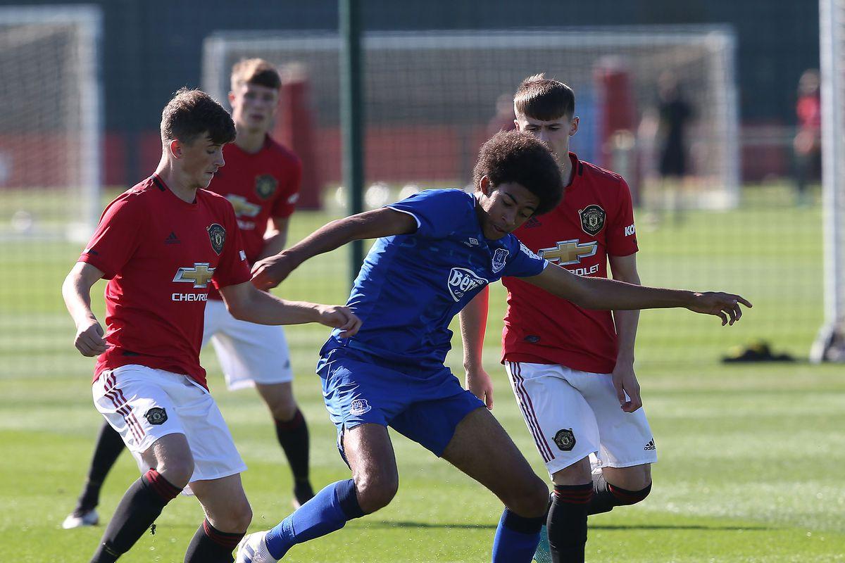 Manchester United v Everton: U18 Premier League