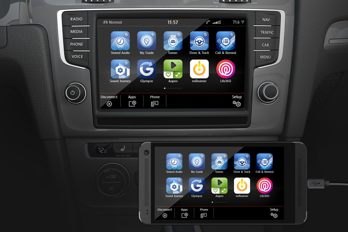 CarPlay and Android Auto will be in Volkswagen cars this
