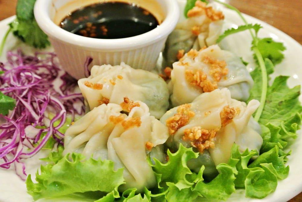 Titaya's spinach dumplings