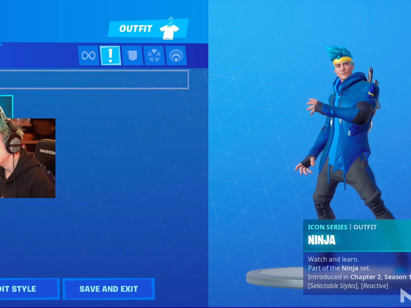 Ninja Is Getting A Fortnite Skin The Verge