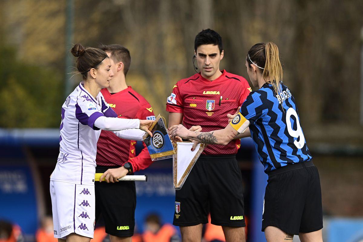 FC Internazionale v ACF Fiorentina - Women Coppa Italia