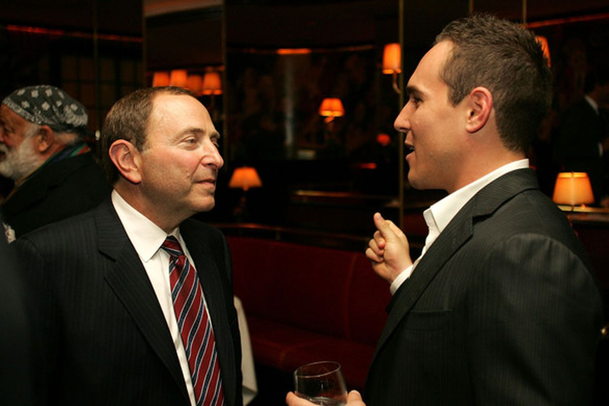 Bettman & Cammalleri surely discussing how they get great deals on clothes by shopping at kid's stores