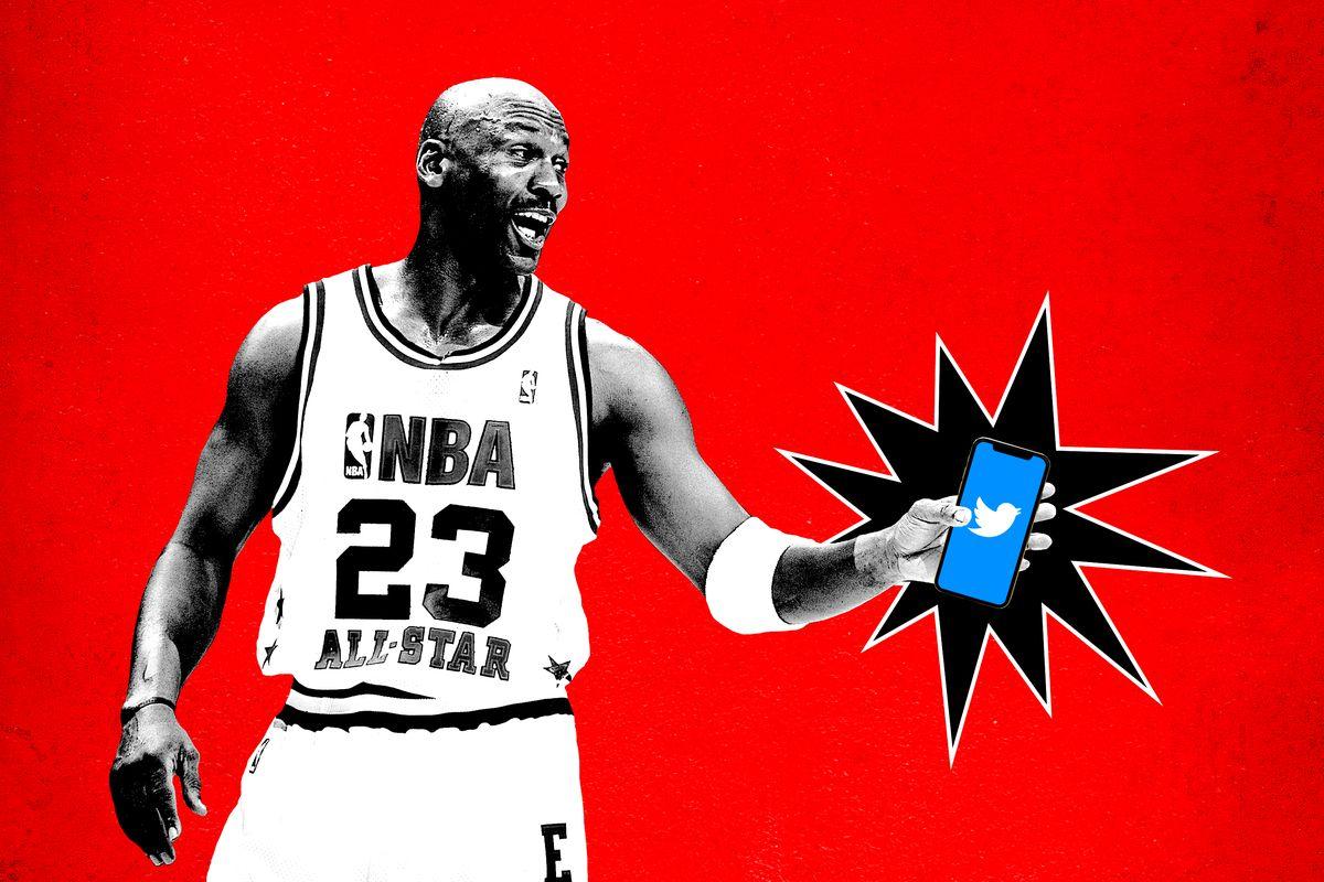 82267b56cf0 What If Peak Michael Jordan Had Twitter? - The Ringer