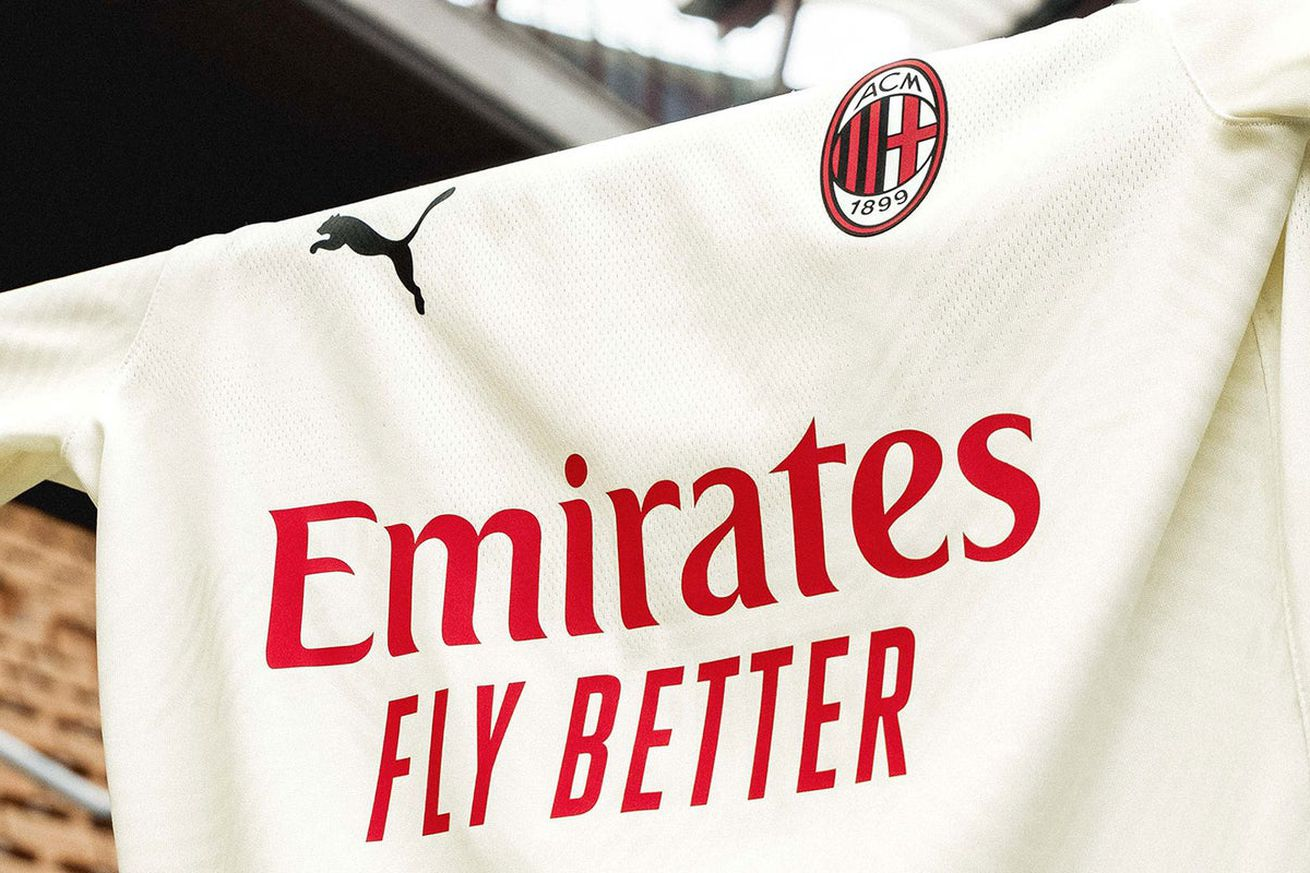 AC Milan Only Rank Sixth In Serie A For Shirt Sponsorship With Emirates