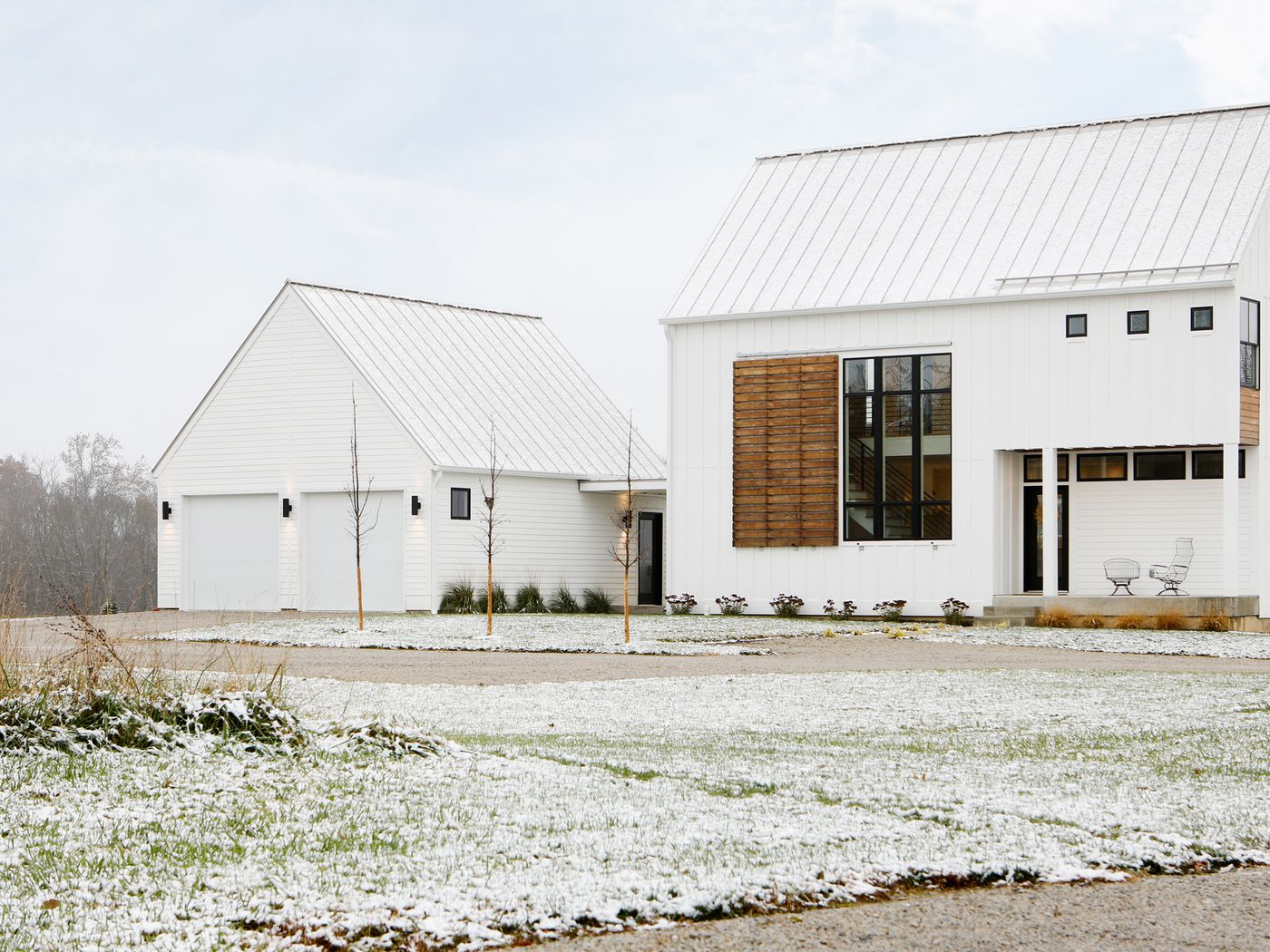 An Energy Efficient House Rises On 8 5 Acres In Indiana Curbed