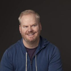 Jim Gaffigan says it's hard to be angry when you're talking about doughnuts.
