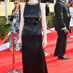<i>Downton</i>'s Lady Mary (Michelle Dockery) sexes it up in vintage Chado Ralph Rucci.