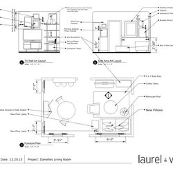 In the Final Design Package, I received a floor plan and full instructions on how to set up the space. L&W essentially offers a fresh pair of non-judgmental eyes that'll help you make the most of your square footage.