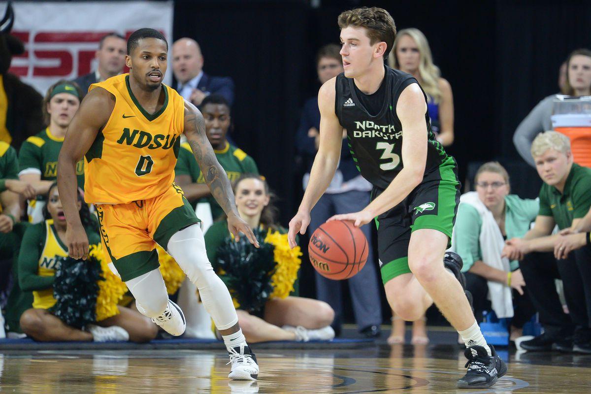 NCAA Basketball: Summit Conference Tournament Championship-North Dakota vs North Dakota State