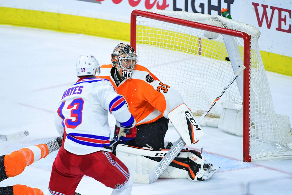 NHL: New York Rangers at Philadelphia Flyers