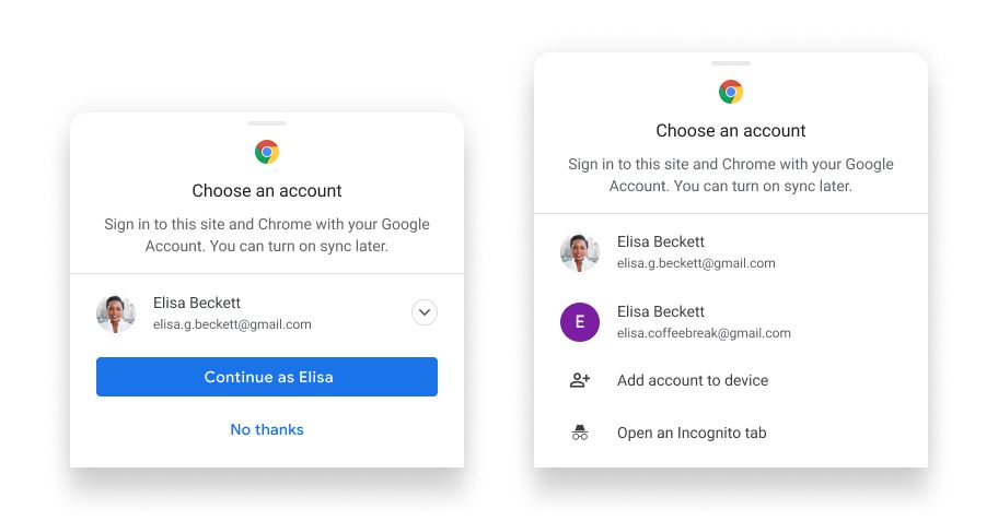 Google gives Chrome users an easier way to sync info across devices