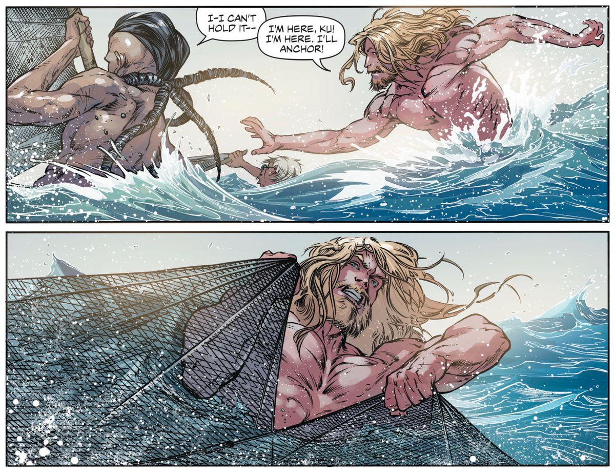 From Aquaman #43, DC Comics (2018).
