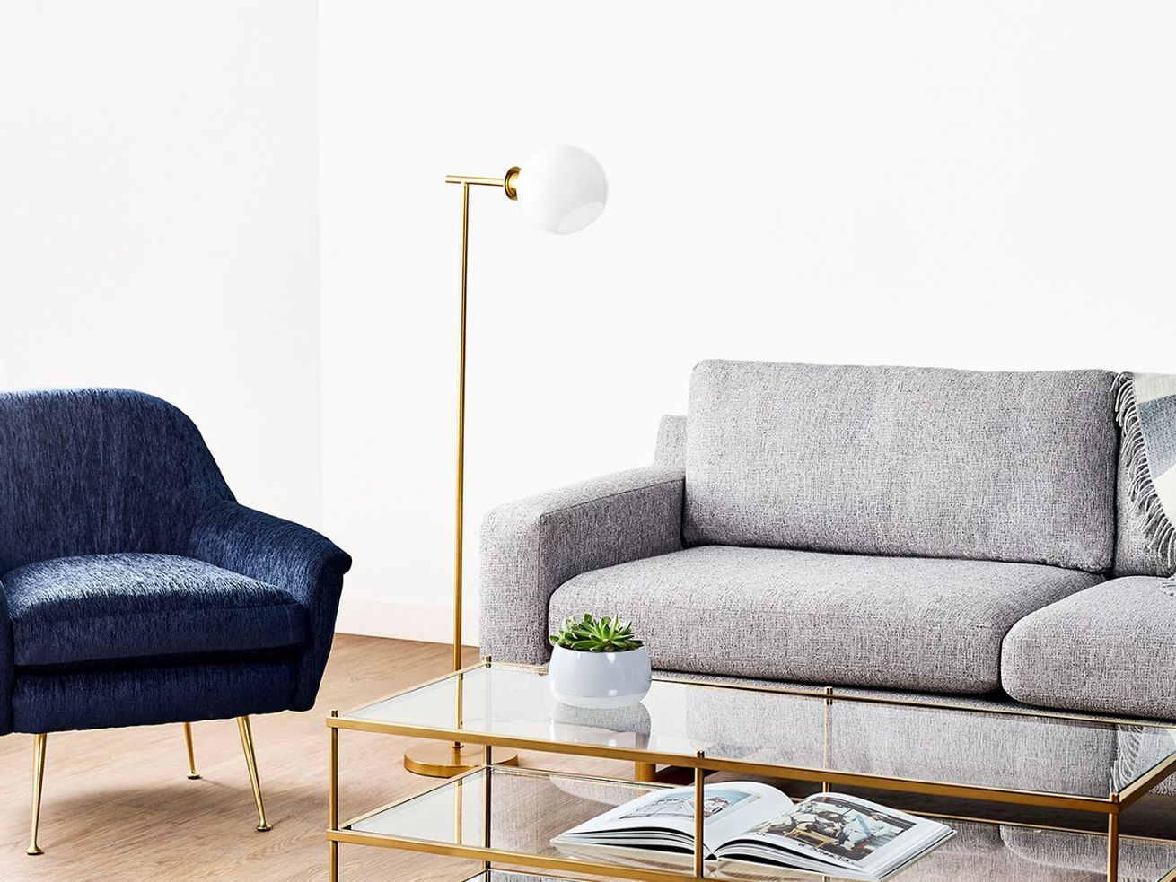 Feather now offers goods from West Elm.