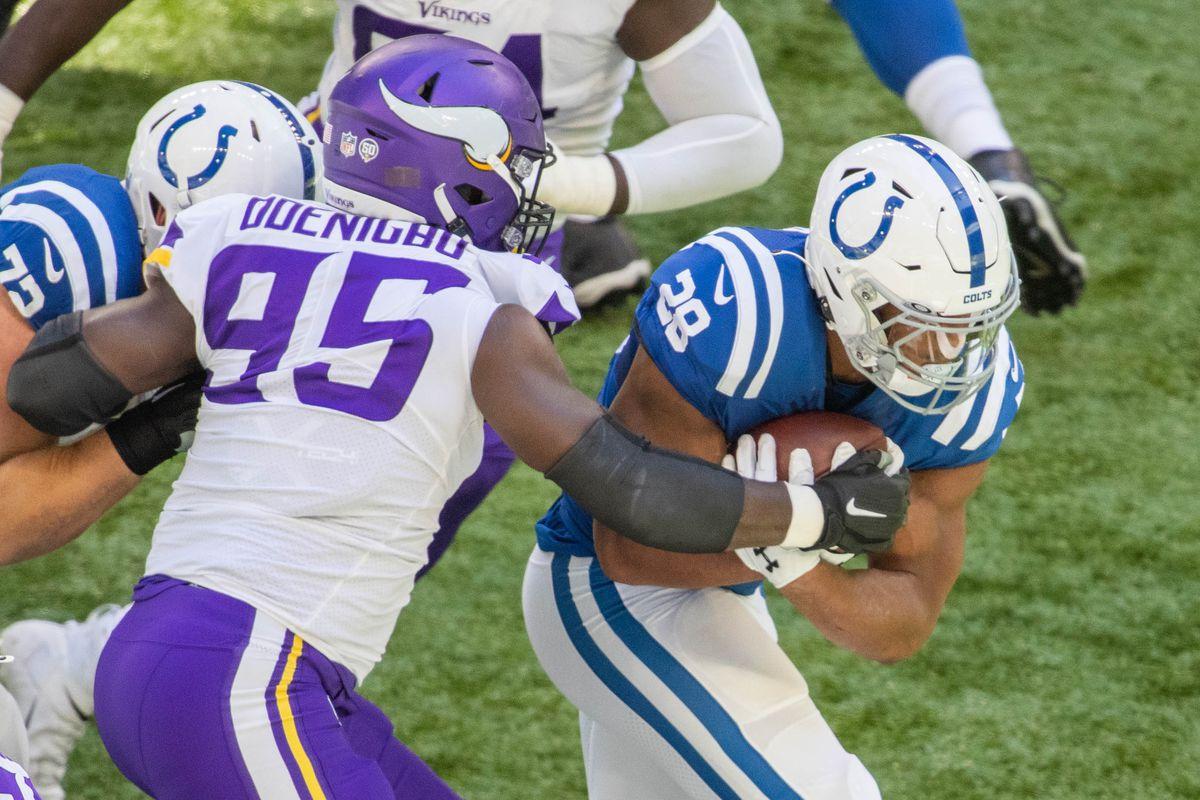 NFL: Minnesota Vikings at Indianapolis Colts