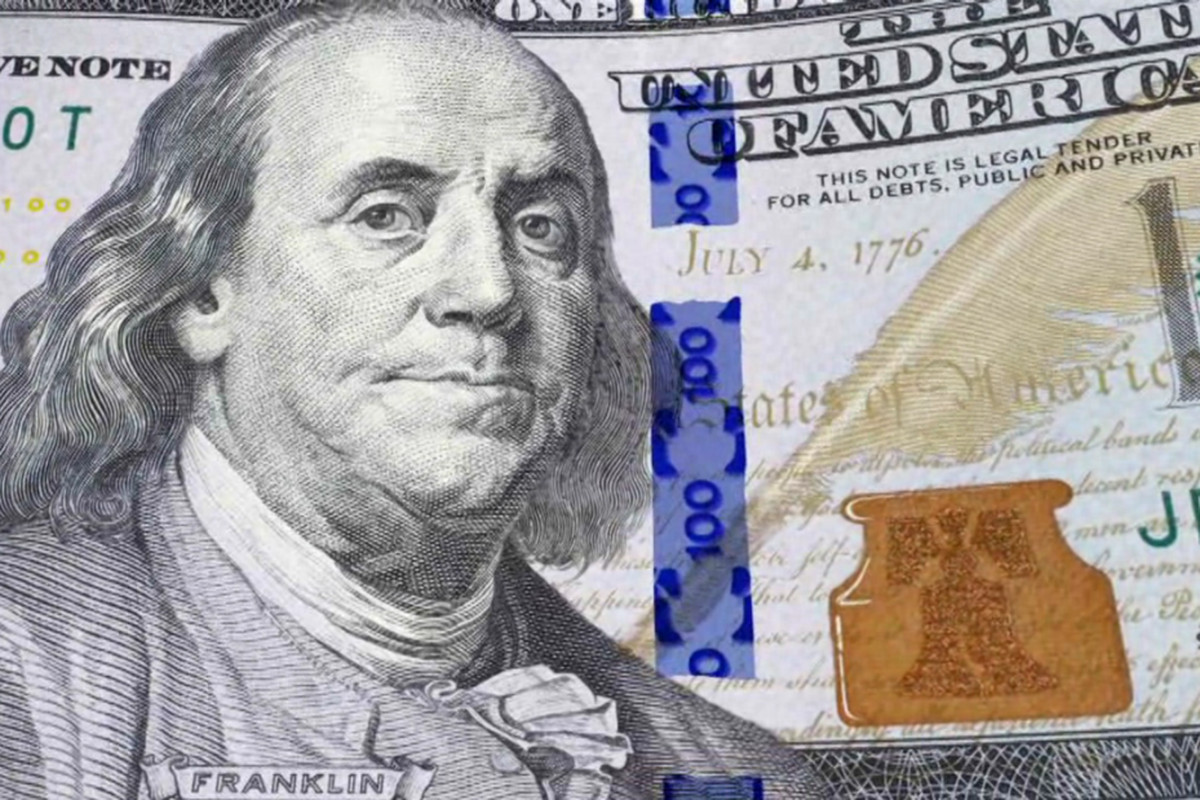 Blue Money Federal Reserve Says Redesigned 100 Bill Will Enter