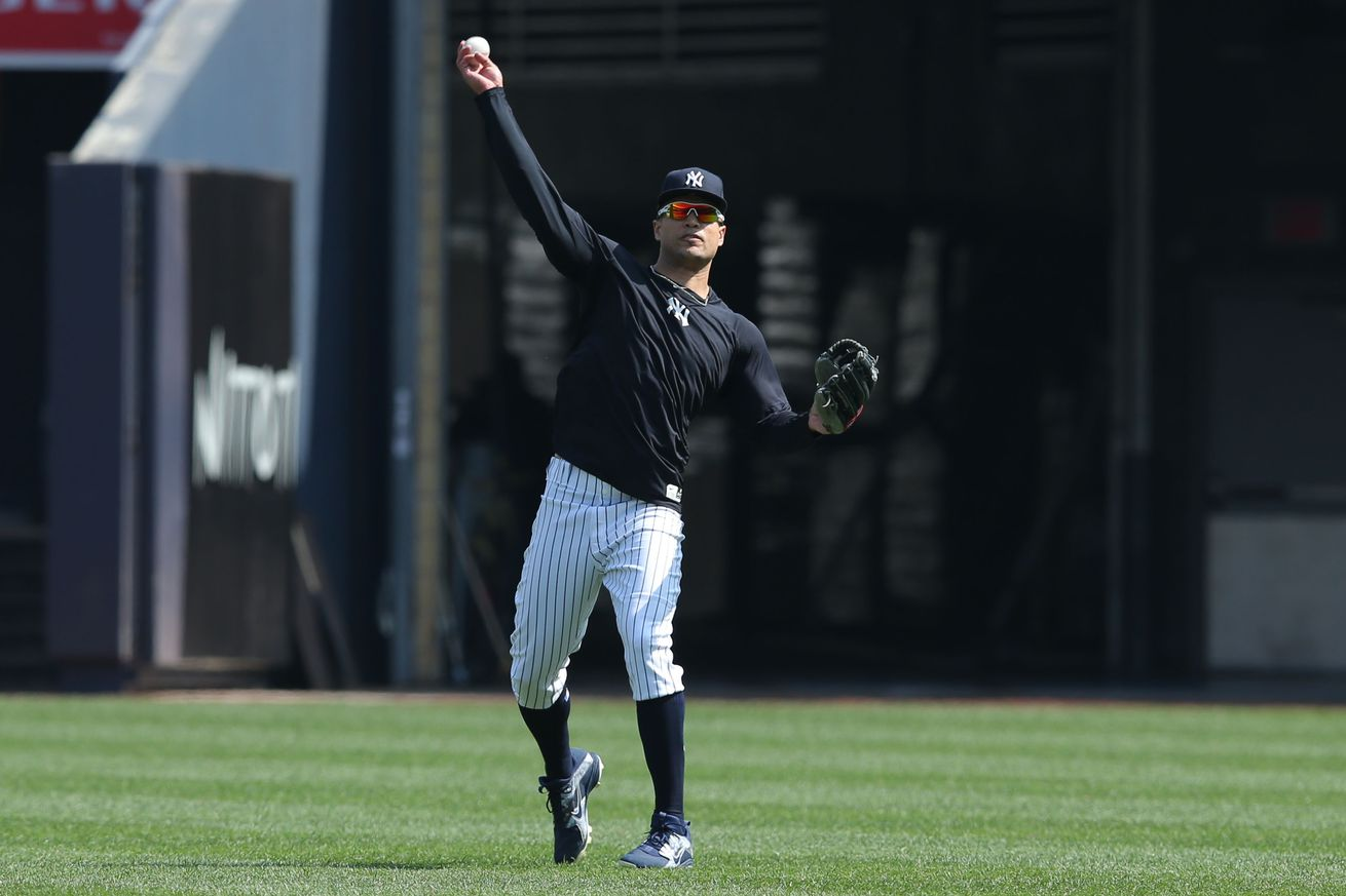 Stanton in the OF! - Pinstripe Alley