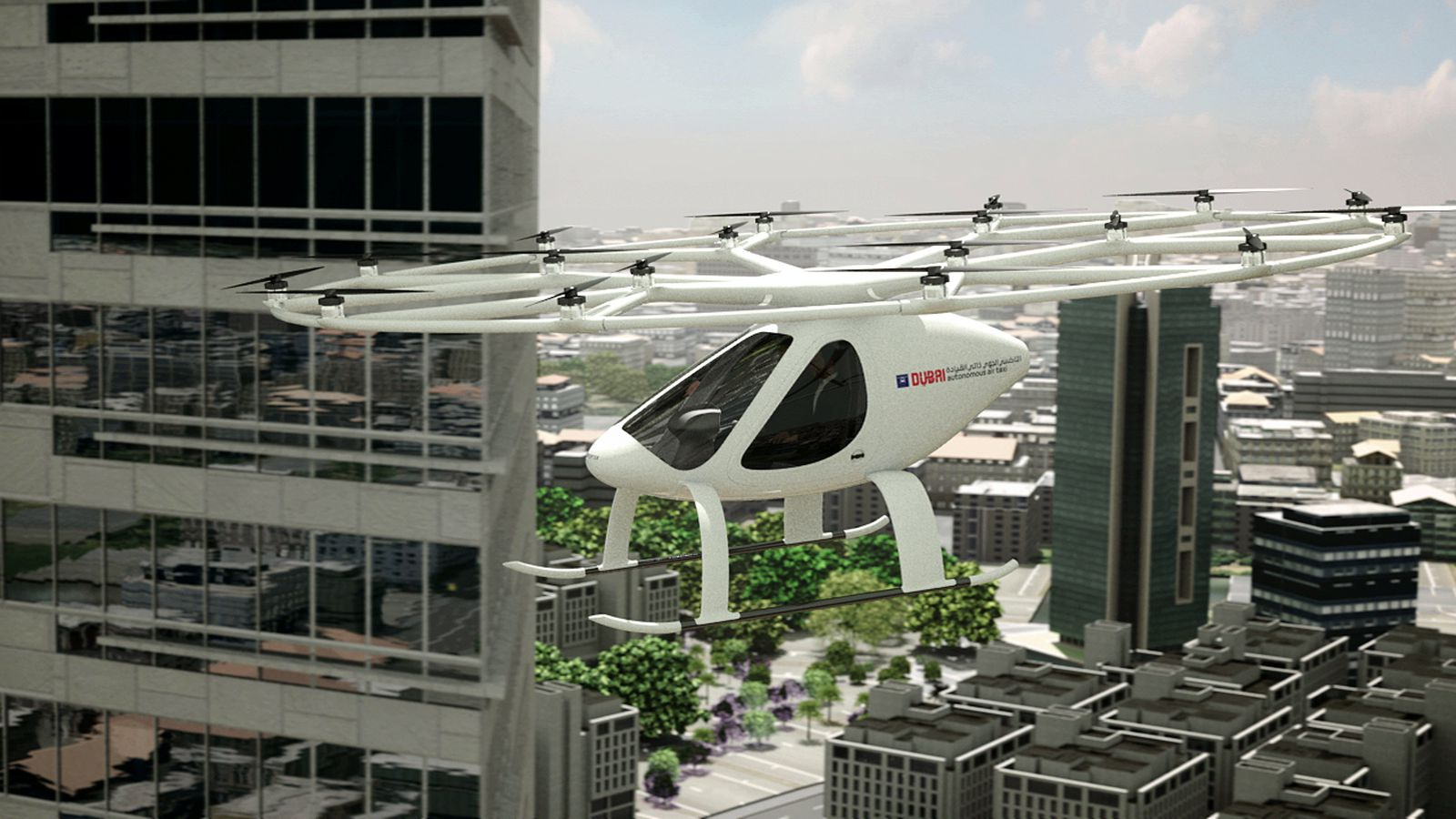This Electric Multicopter will Take to the Skies in Dubai Later this Year