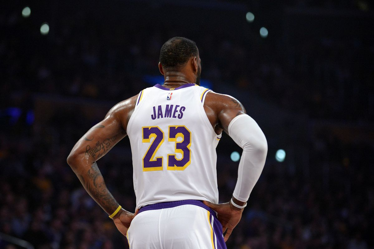 low priced 559fc 3d772 LeBron James 'won't stop' until Lakers are in championship ...