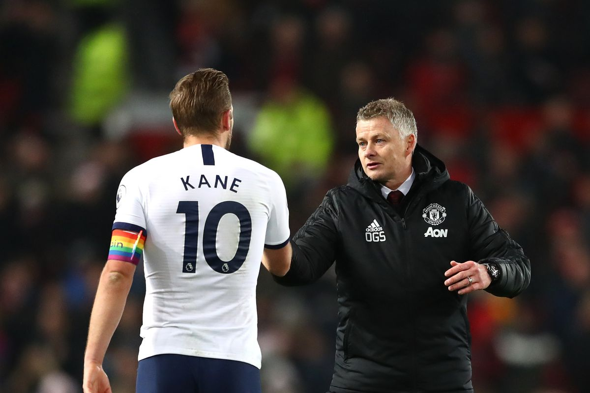 Harry Kane Wants To Leave Tottenham Linked With Manchester United The Busby Babe
