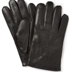 """<a href=""""http://www.mrporter.com/en-us/mens/dents/touch-screen-cashmere-lined-leather-gloves-/477441"""">Dents touchscreen gloves</a>, $130 <br>""""These smart leather gloves are cashmere-lined to keep your hands from going blue in the wind-chill. And, adding"""