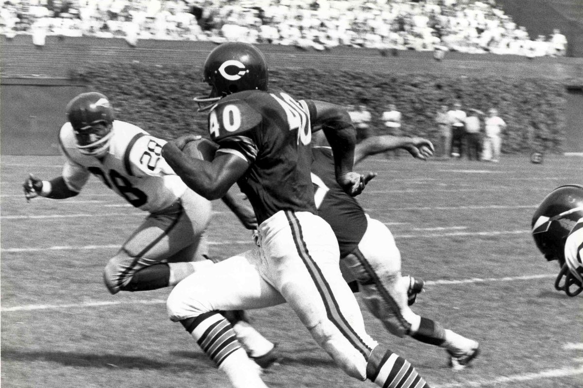 Gale Sayers - Chicago Bears - File Photos